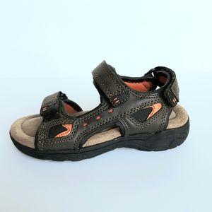 Boys Sonoma Oak Brown Sandles Size 11